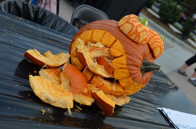 AIGA Charlotte GUTS 2012 Pumpkin