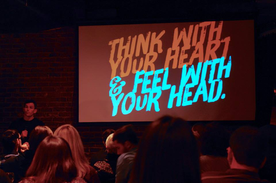 "In his ""AIGA Got It Wrong"" talk, Brady Bone stresses letting your heart lead the way."