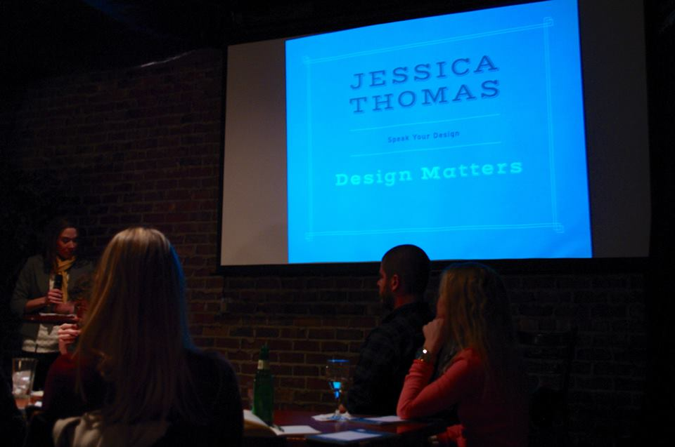 "Jessica Thomas explains why ""Design Matters."""
