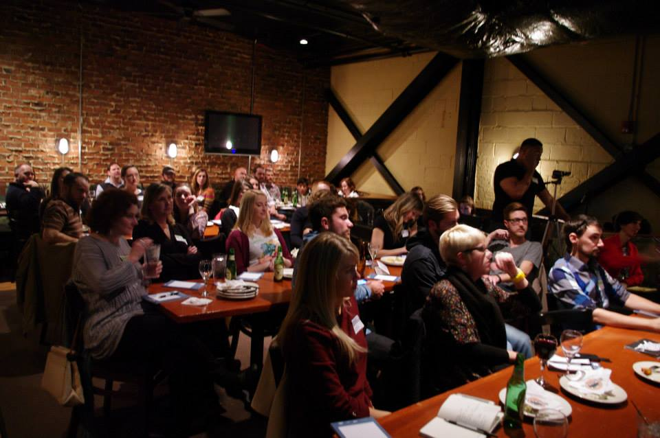 A rapt audience heard 10 Queen City creatives speak on subjects near and dear to them.