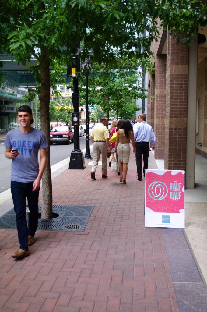 Ryan Hollingsworth on the streets of Charlotte