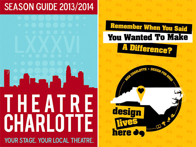 Design Lives Here and Theatre Charlotte