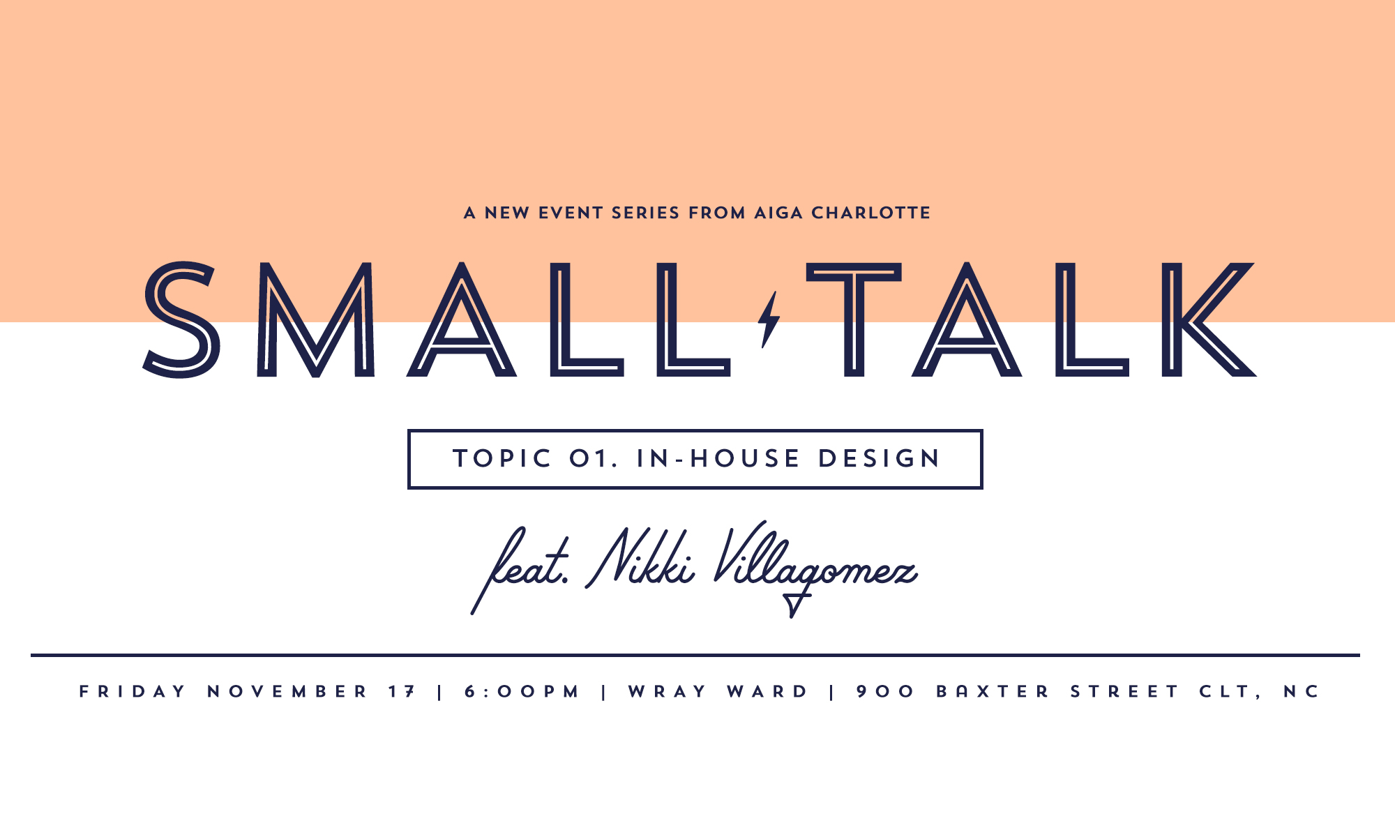 Small Talk: Nikki Villagomez | AIGA Charlotte