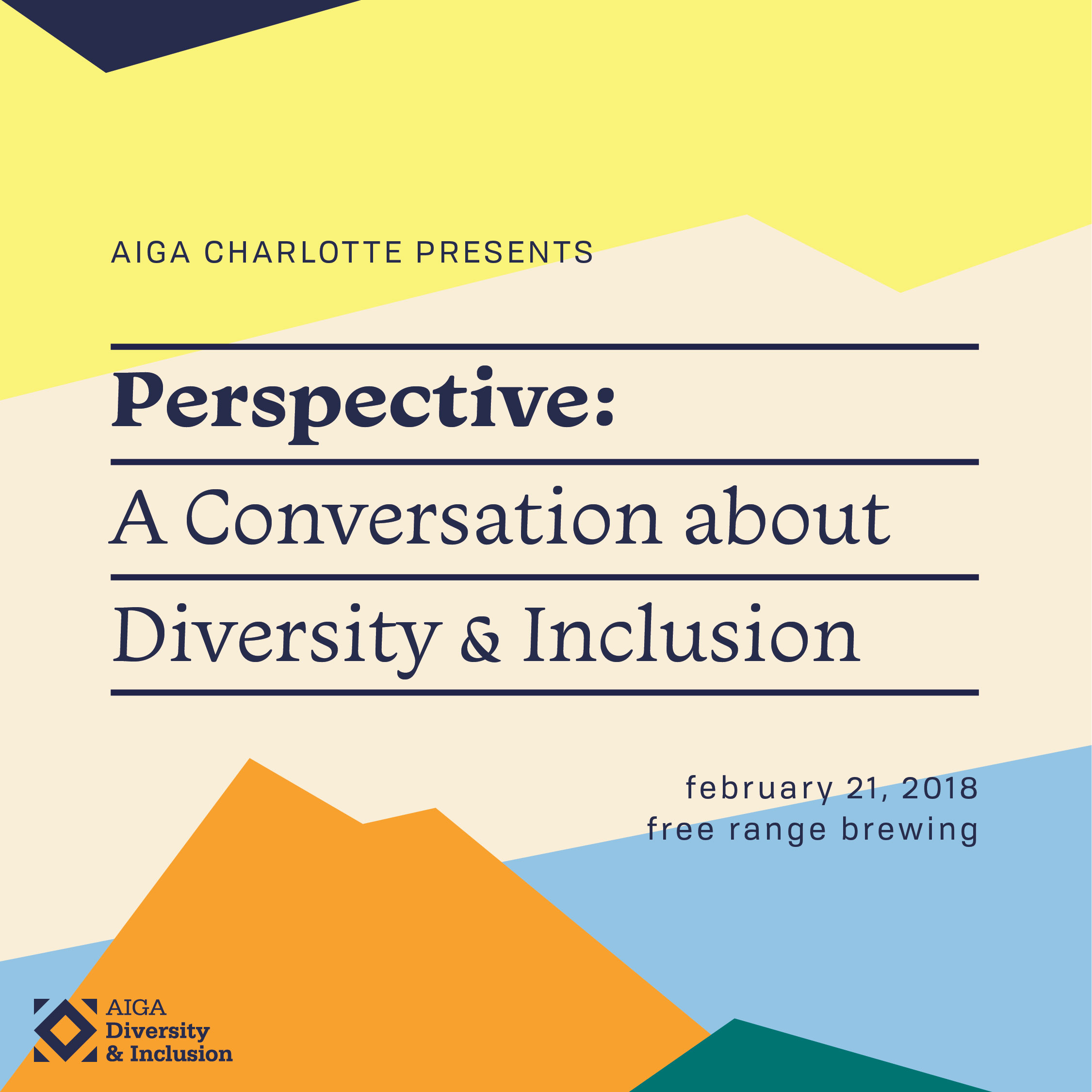 Events perspective a conversation about diversity inclusion fandeluxe Gallery
