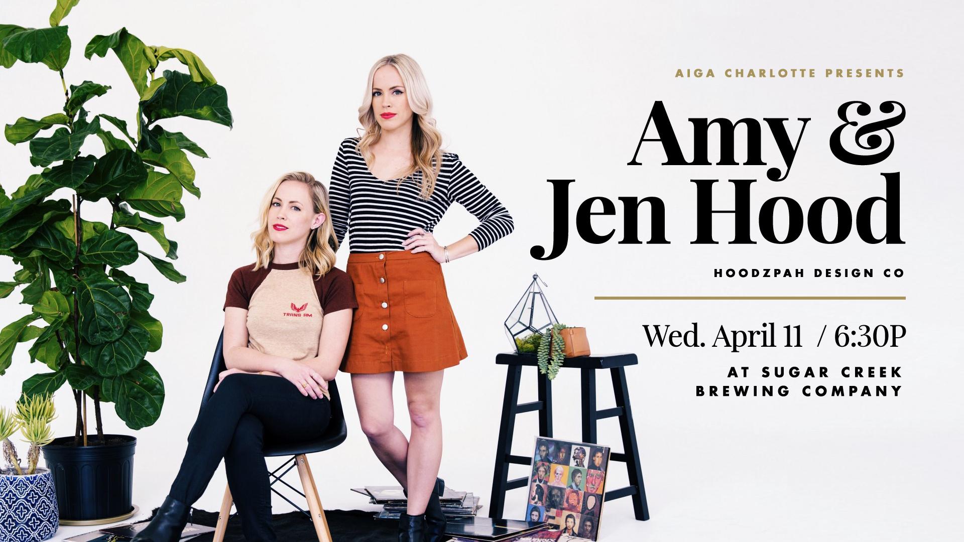 Amy & Jen Hood | AIGA Charlotte